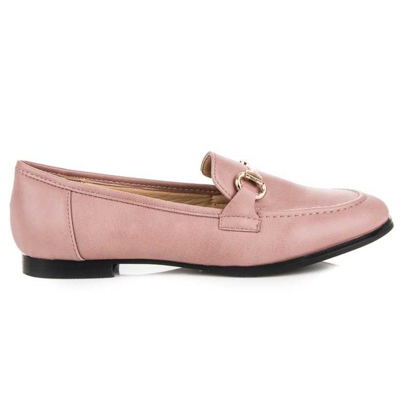 Vices Slip-on Moccasins pink