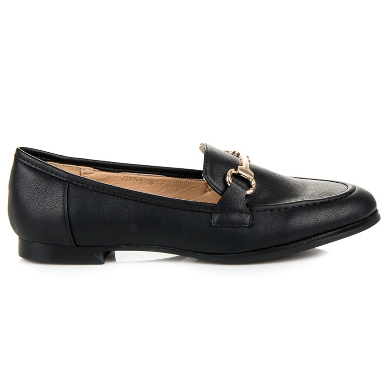 Vices Slip-on loafers black