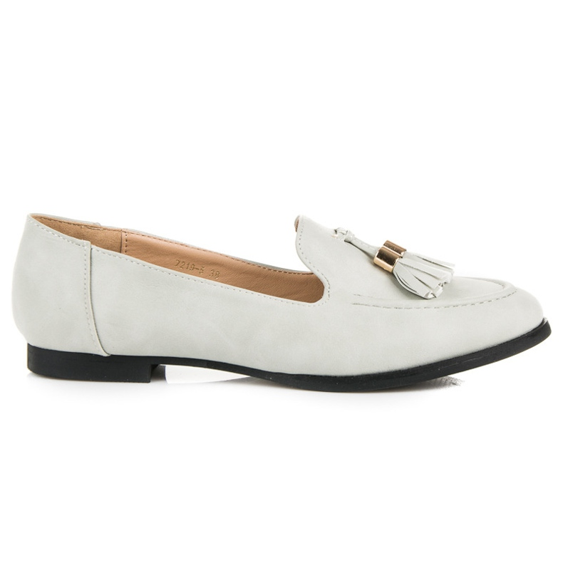 Vices Loafers with tassels grey