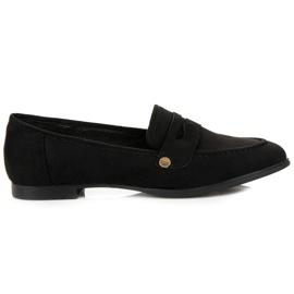 Seastar Suede moccasin shoes black