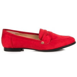 Seastar Suede loafers shoes red