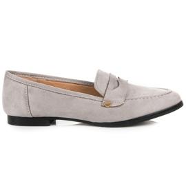 Seastar Suede moccasin shoes grey