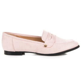Seastar Suede loafers shoes pink