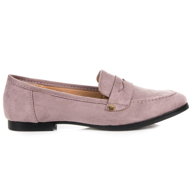 Seastar Suede loafers shoes violet