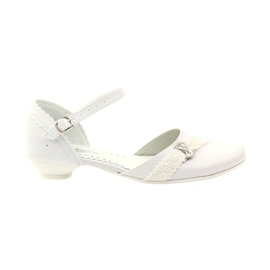 Courtesy ballerinas Communion Miko 714 white