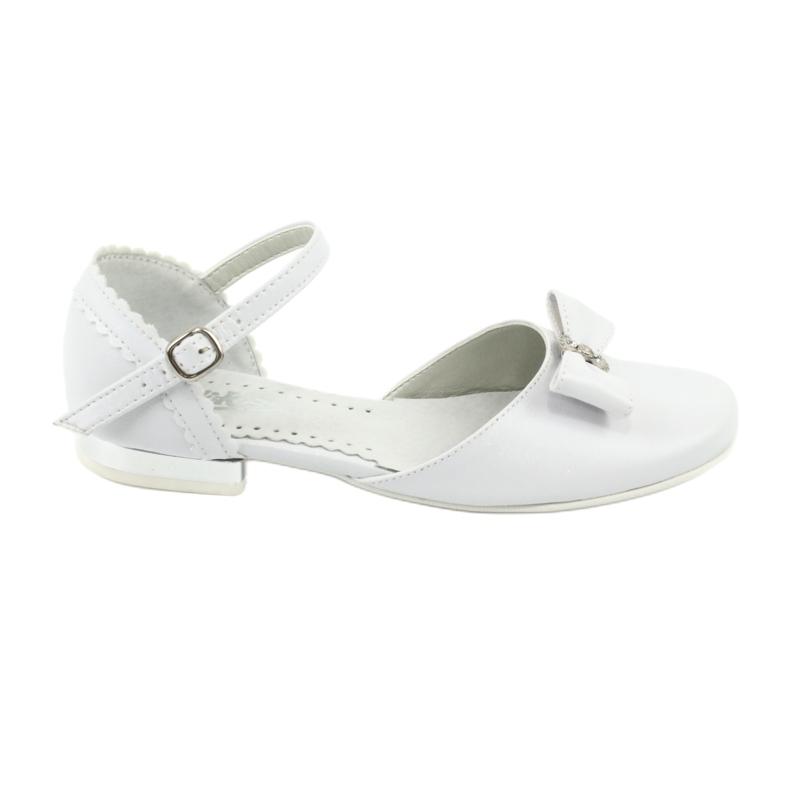 Courtesy ballerinas Communion Miko 671 white