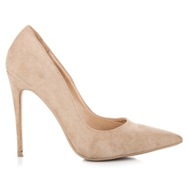 Vices Pumps on a stiletto brown