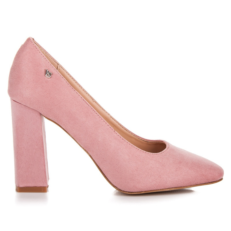 Vices Pink pumps on the post
