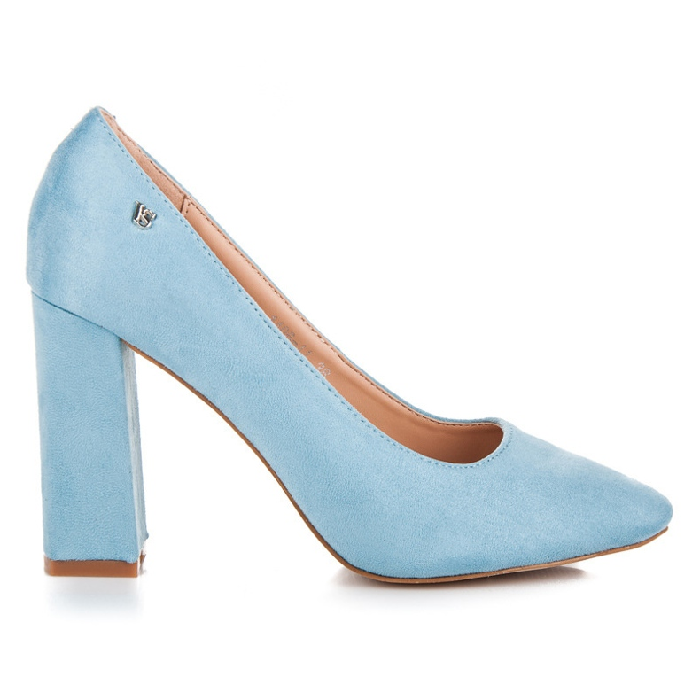 Vices Blue pumps on the post
