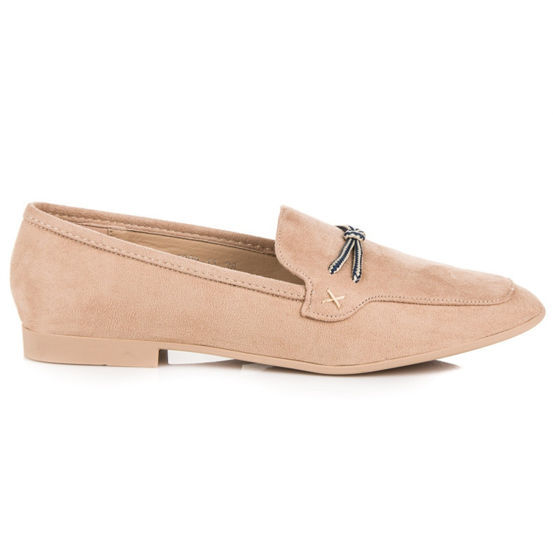 Suede loafers vices brown