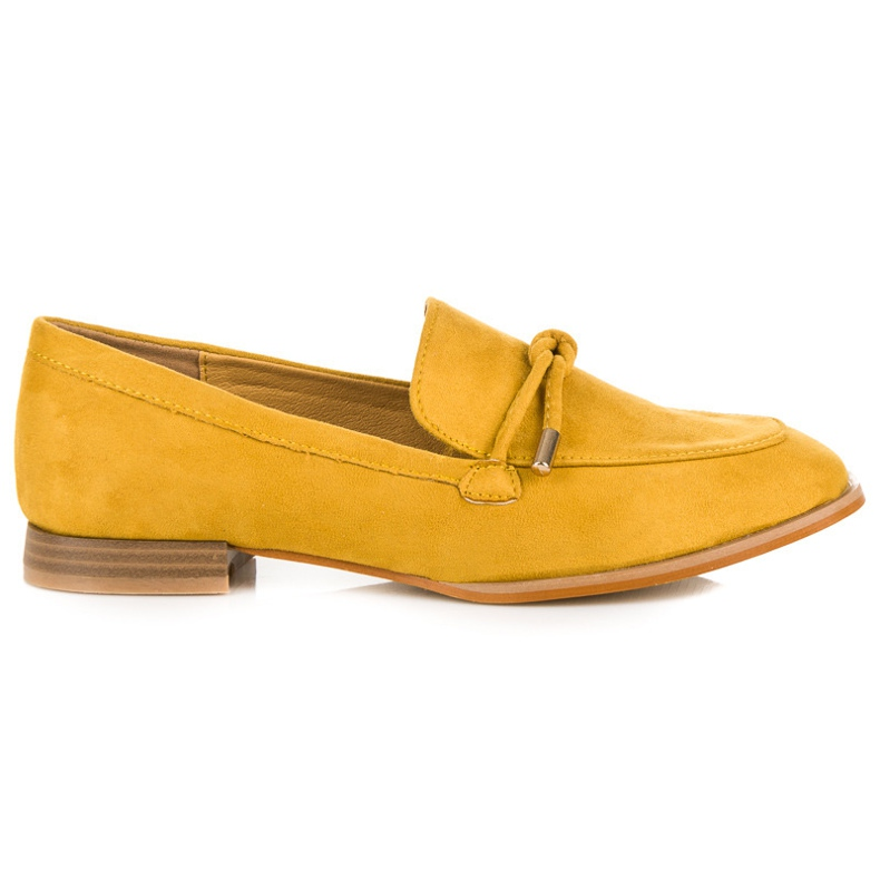 Vices Spring moccasins yellow