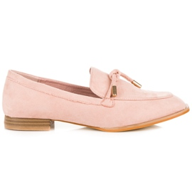 Vices Spring Moccasins pink
