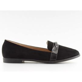 Loafers black H8-110 Black