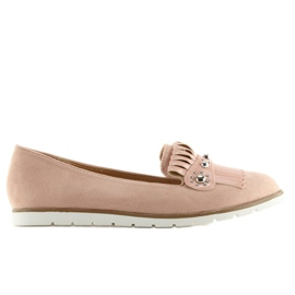 Moccasins for women pink DM30P Pink