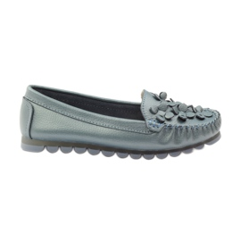 Filippo Loafers blue moccasins F 138