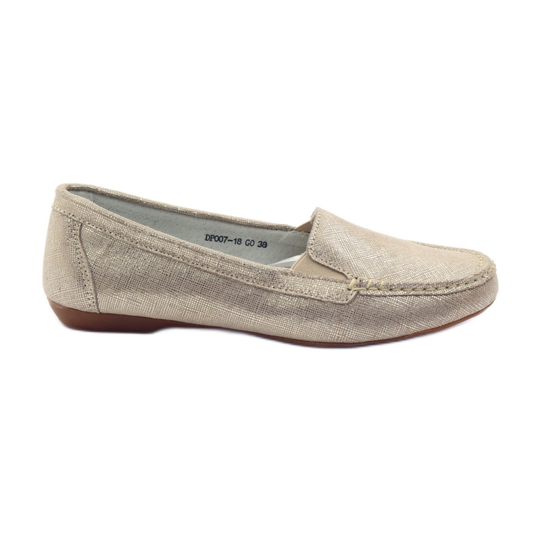 Filippo Lordsy women's loafers F 007 gold golden
