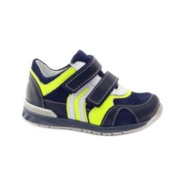 Velcro booties Ren But 1445 navy blue multicolored