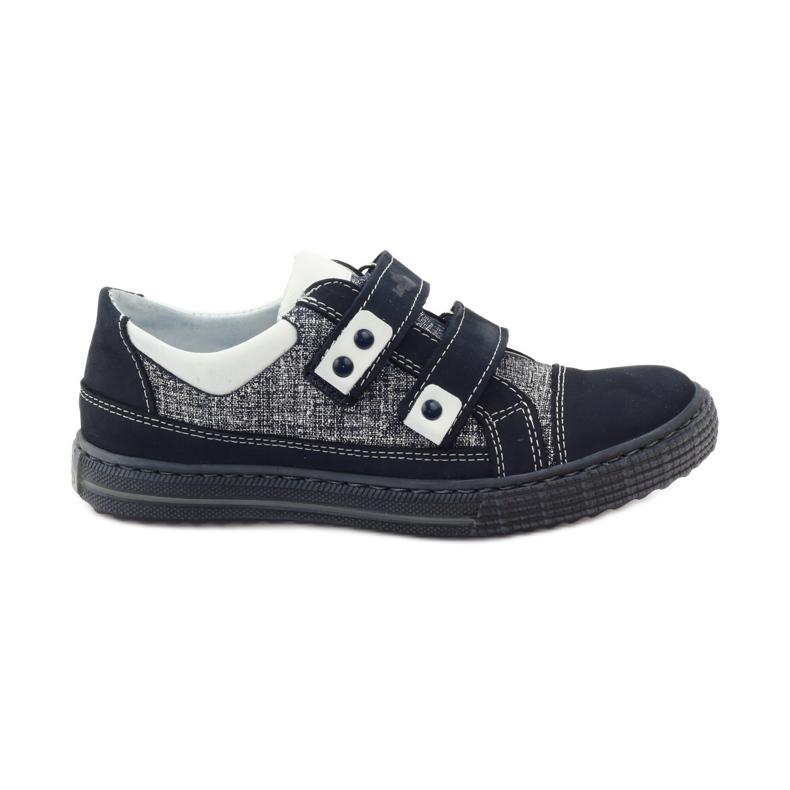 Ren But Boots for Velcro Butt 4299 navy blue white