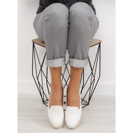 Loafers lordsy white T309P White