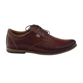 Brown Riko men's casual shoes 777