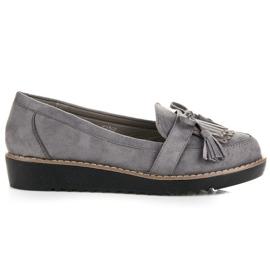 Seastar Loafers with tassels grey