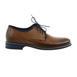 Brown men's shoes Nikopol 1653