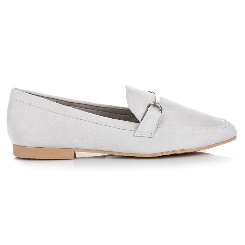 Women's moccasins VICES grey