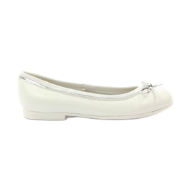American Club Ballerinas shoes with American white bow
