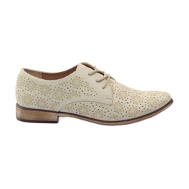 Sergio Leone Women's shoes in stylish flowers brown