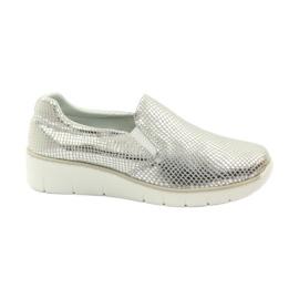 Slipony Filippo 204 leather sports shoes