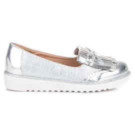 Moccasins on the VICES Platform grey