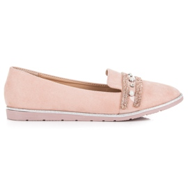 Sergio Todzi Comfortable Lordsy For Spring pink