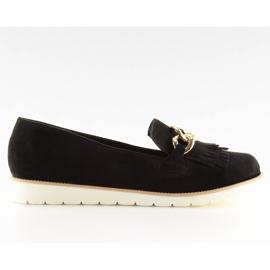 Women's loafers black G237 black