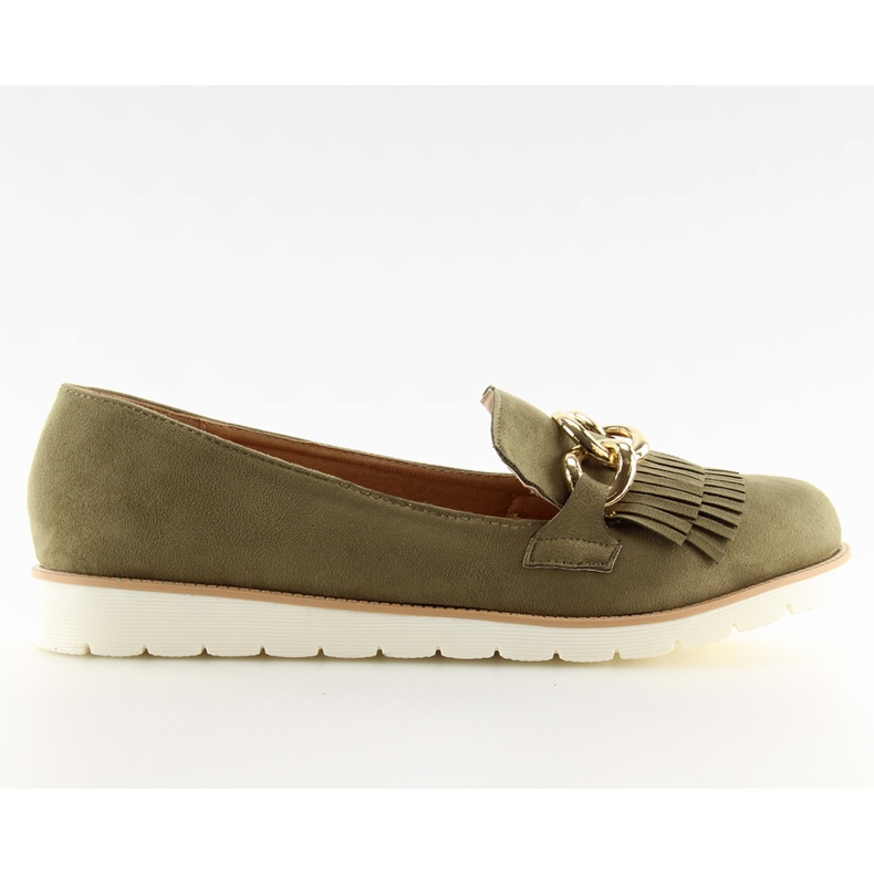 Loafers green G237 Green