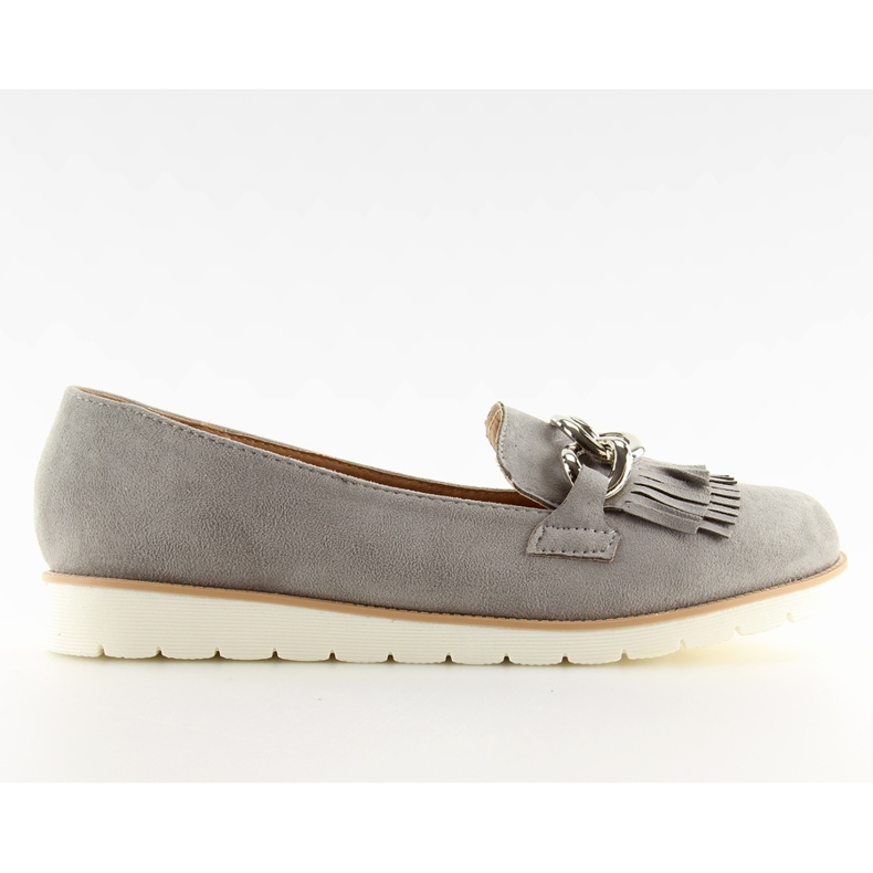 Gray Women's loafers G237 gray grey