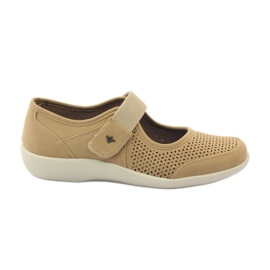Brown Super comfortable Aloeloe shoes