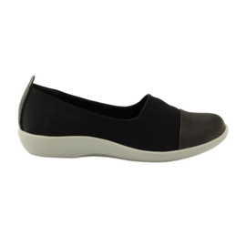 Black Very comfortable shoes Aloeloe slipons