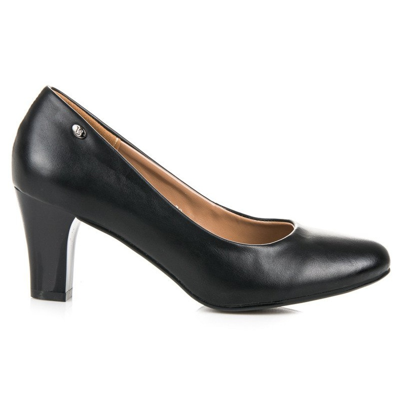 Vices Black pumps on the post