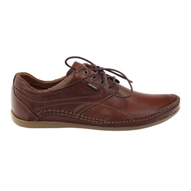 Riko men's casual shoes 844 brown