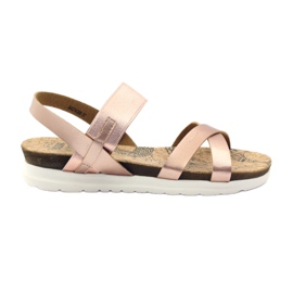Women's sandals Big Star 274368 pink