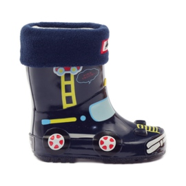 American Club Wellington boots sock + insole American TRUCK yellow red navy