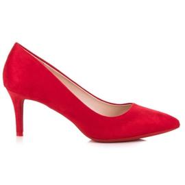 Milaya High heels women's pumps red