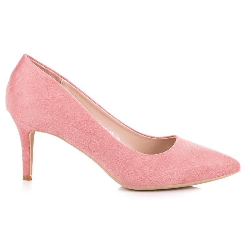 Milaya High heels women's pumps pink