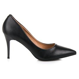 Classic black high heels