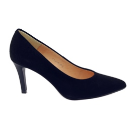Black Business pumps on the ESPINTO 542 heel
