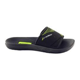 Slippers boys recreational Rider black