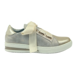 Creepersy leather insert Filippo shoes yellow