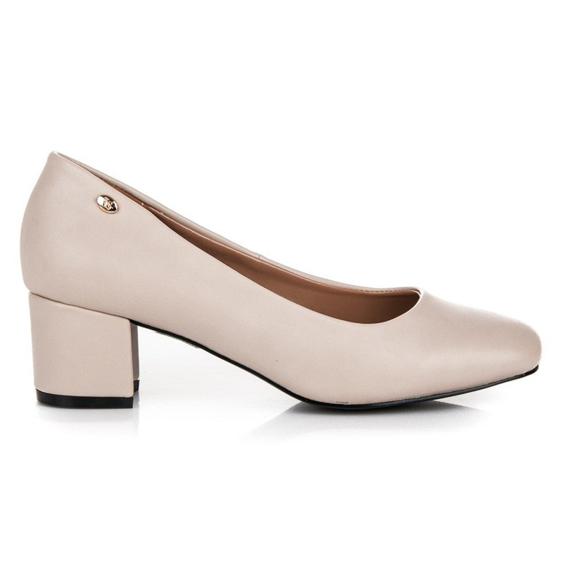 Low heels vices brown
