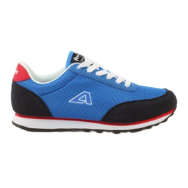 American Club American blue sports shoes