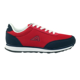 American Club American red sports shoes